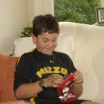 Brenn likes his gift card