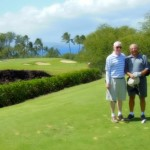 Golf with Elton and Joe