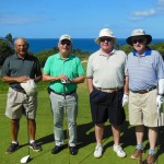 Joe, Tony, Jack and Elton at Emerald course
