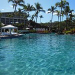 One of the pools at Grand Wailea