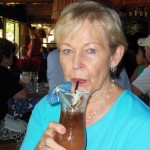 Tropical drink at Mama's