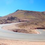 Road up Pikes Peak