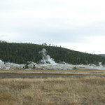 Yellowstone Geyser area