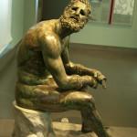 Roman Bronz Statue
