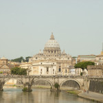 Saint Peters from accross the Tiber