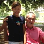 Alexandra and Grandpa
