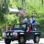 Parade begins