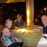 Joyce, Alex and Gil at Cassis