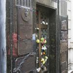 Eva Peron's resting place