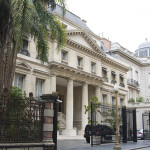 Former privae mansion now hotel