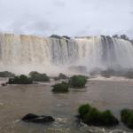 Face of Iguassu Falls